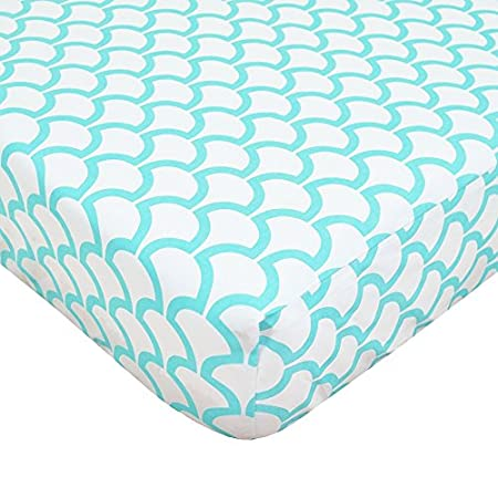51E4Q8OWe0L._SS450_ Mermaid Crib Bedding and Mermaid Nursery Bedding Sets