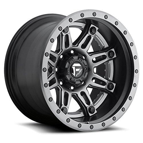 Anthracite Alloy Wheels (FUEL Hostage D232 Anthracite Center, Matt Black & Anthracite Outer 22x12 6x135 Wheel Rim Partnumber D23222208947)