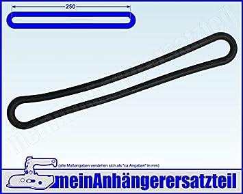 4 x Gummispannring Spannring 280mm Gummistroppe verstellbar für Anhänger Plane