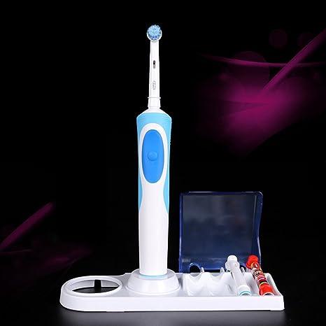 Kaimeng Eléctrico Soporte del Cepillo de Dientes con Caja de Cabeza de Cepillo para Cepillo Dental