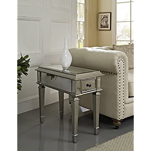 Top Selected Products and Reviews - Antique Mirrored Tables: Amazon.com