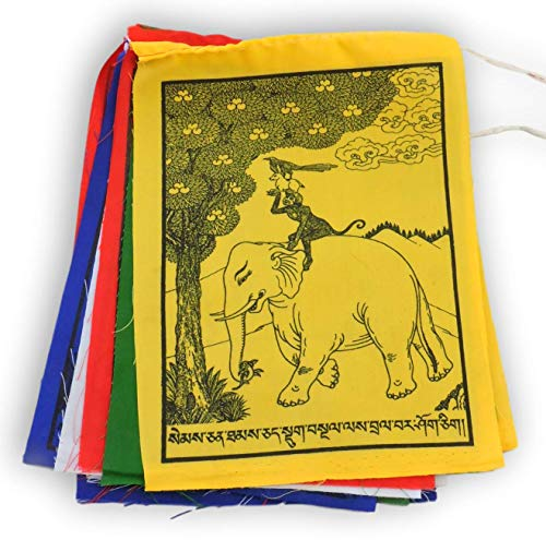(THE FOUR PEACEFUL FRIENDS PRAYER FLAGS)