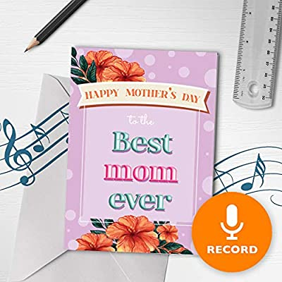 Tarjeta musical para el día de la madre | Tarjeta de ...