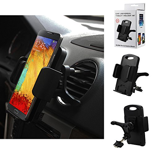 Vent Air Conditioner Mount & Holder for ZTE Nubia Z7, Z7 Max. Rotates 360 degrees and has quick release button.