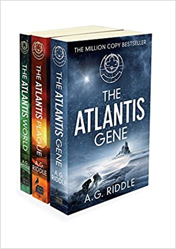 Amazon. Com: the atlantis gene: the origin mystery, book 1 (audible.