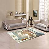 Custom Fashion Home Decorator The Elephant In The Room Window Area Rug Floor Rug Carpets