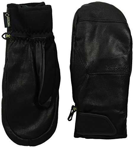 Burton Gondy Gore-Tex Leather Mitts, True Black, (Burton Gore Tex Mitt)