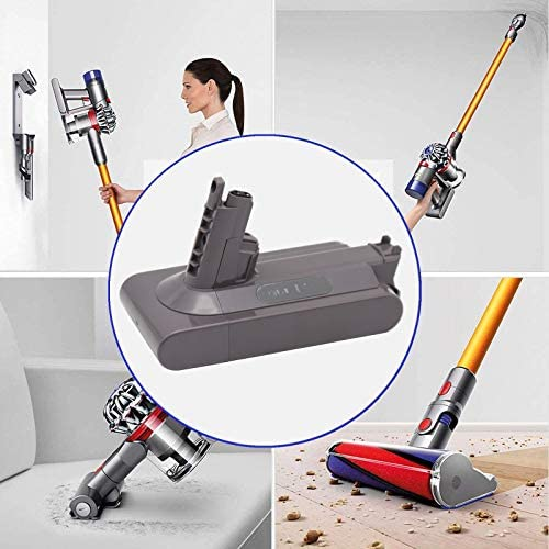 Eseegoo 25.2V 3500mAh Battery - Compatible with Dyson V10 SV12 Absolute Animal Motorhead Cordless Stick Handheld Vacuum Cleaner - Lithium-ion Battery