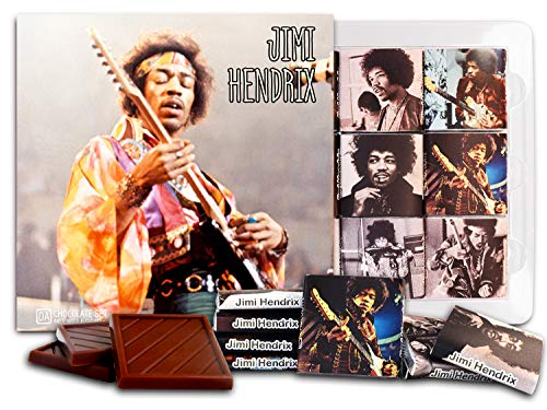 DA CHOCOLATE Candy Souvenir JIMI HENDRIX Chocolate Set 5x5