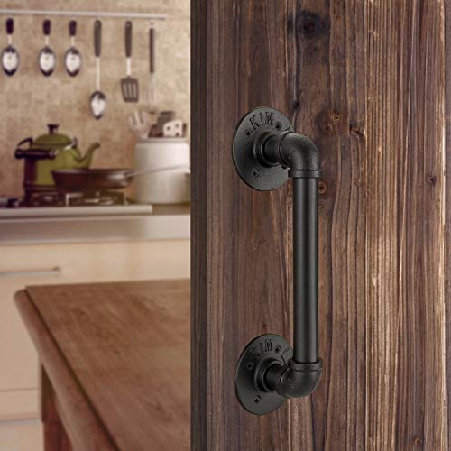 Homode Industrial Pipe Barn Door Handle- 12