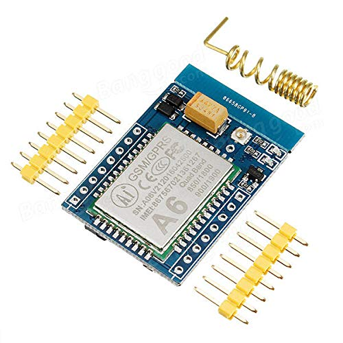 3pcs GA6 5V Mini GPRS/Module A6 SMS/Voice Development Board FCC CE Certification DTMF TCP Support 2G 3G 4G Mobile Phone Card With Wireless Data Transmission SMS And Voice Services Function