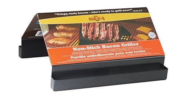Amazon.com: Mr. Bar-B-Q 06826X Non Stick Bacon Griller by Mr ...
