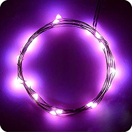 Amazon hjd lightled battery copper wire string lights rope hjd lightled battery copper wire string lights rope lights waterproof flexible fairy lights aloadofball Choice Image