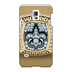 Durable Hard Phone cases for Christmas and Happy New Year For Samsung Galaxy S5 Mini (zKK1607hdqf) Provide Private Custom High-definition New Orleans Saints Image