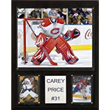 NHL Carey Price Montreal Canadiens Player Plaque