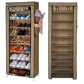 10 Schicht 27 Paar Schuhe Schrank Aufbewahrung Organizer Staubdicht
