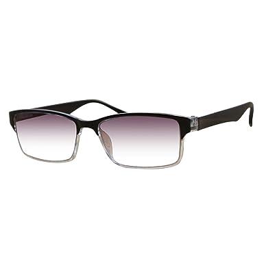 Huicai gafas de lectura de miopía marco negro graduado ...