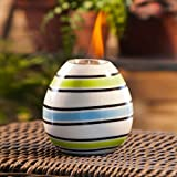 Cheap Bright Stripes Ceramic Fireside Pot