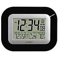 La Crosse Atomic Digital Wall Clock - In...