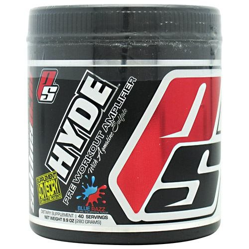 Pro Supps Hyde V2 Bleu Razz - 40 Portions - 9,9 onces (280 grammes)