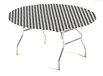 Terrific Buy Creative Converting Round Stay Put Plastic Table Cover Alphanode Cool Chair Designs And Ideas Alphanodeonline