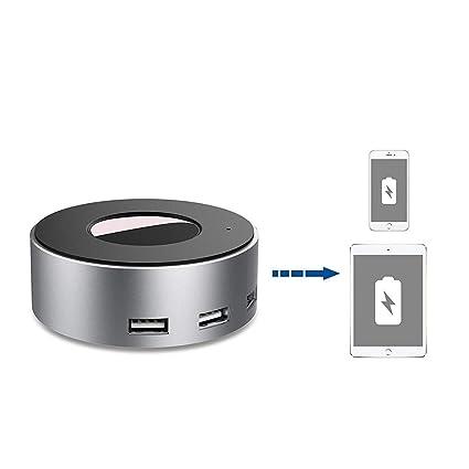 vogek de 6 puertos USB cargador de escritorio estación de ...