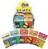 Matt's Munchies Tropical Assortment Organic Non-GMO Peelable Fruit Snacks 25 Count Variety Pack Caddy – Mango, Island Mango, Tropical Punch, Banana Coconut & Apple For Sale