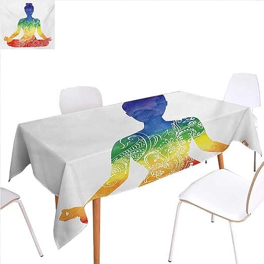 familytaste - Silueta de Yoga para decoración de Mesa de ...
