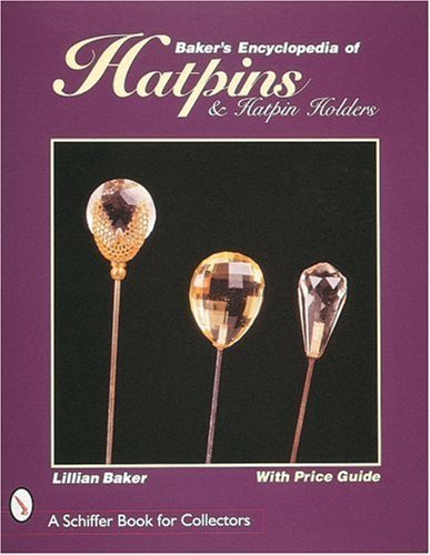 Maple Bakers Pin (Collector's Encyclopedia of Hatpins & Hatpin Holders)