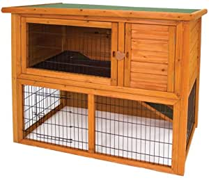 Ware Manufacturing Premium Plus Penthouse Hutch for Rabbits and Small Pets