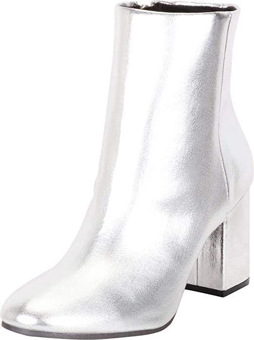 Retro Shoes – Women's Heels, Flats & Sneakers Cambridge Select Womens Classic Chunky Block Heel Ankle Bootie $52.45 AT vintagedancer.com