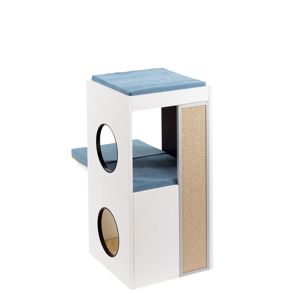 Ferplast Blanco Cat Furniture, 40 X 55 X 80 Cm: Amazon.co.uk: Pet Supplies