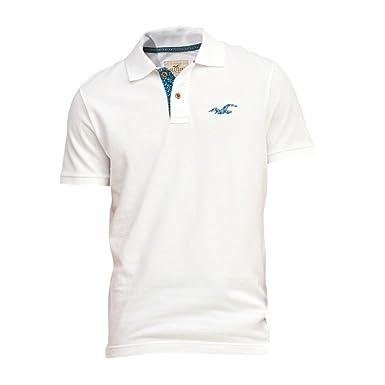 günstig Billiger Preis Original kaufen Hollister Herren Slim Fit Print Icon Polo Poloshirt Polohemd ...