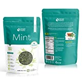 USimplySeason Dried Mint Leaves, Cut & Sifted, 4 Oz Resealable Pouch