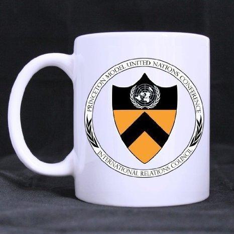Princeton University Logo Custom White Ceramic Coffe Mug Tea Cup 11 Ounce Gifts