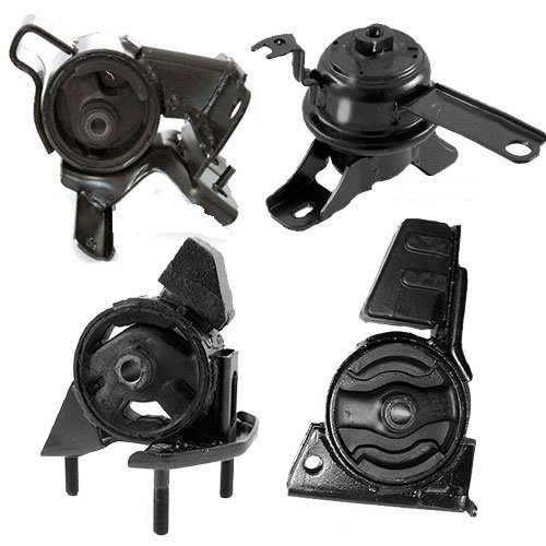 K188-04 : Fits 1998-2002 TOYOTA COROLLA 1.8L Engine Motor & Trans Mount Set for 4 Speed AUTO 4 PCS : 1998 1999 2000 2001 2002 - A7256 A7243 A7254 A7259