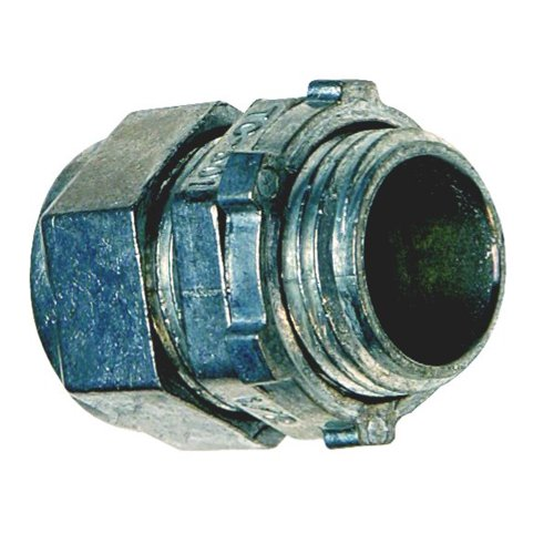 Sigma Electric ProConnex TC-601 EMT Compression Connector 1/2-Inch, 50-Pack