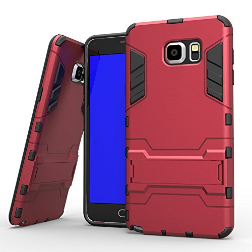 Anti-knock Shockproof Armor Case for Samsung Galaxy Note 5 Red - 7