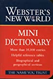Mini Dictionary, Webster's New World Staff and Joyce L. Vedral, 0028618858