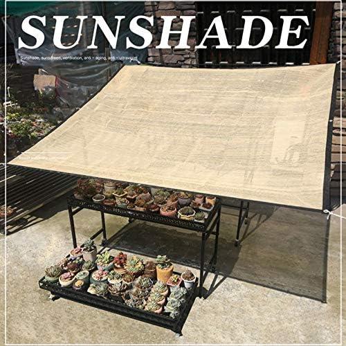 Herxy Malla de Sombra Beige, Anti-UV/Permeable, Tejido de protección Solar, para pérgola Plantas balcón jardín, 0.6 × 1m, 0.9 × 1m, 1 × 1.8m, 2 × 1.8m, 3 × 1.8m, 5 × 1.8m, 6 × 1.8m: Amazon.es: Hogar