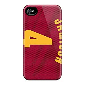 DannyLCHEUNG Iphone 6plus Shock Absorption Hard Phone Cases Provide Private Custom HD Cleveland Cavaliers Pattern [btn7566ShSv]