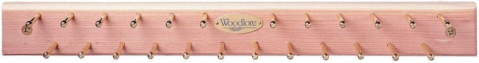 Woodlore Cedar Tie Rack Up to 24 Ties