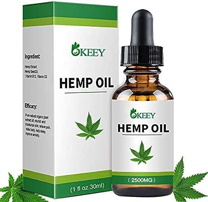 Aceite De Cáñamo, BUDDYGO BIO HEMP OIL 1fl oz.30ml, Ideal Para la Ansiedad, el Insomnio y el Dolor, Aliviar el Estrés