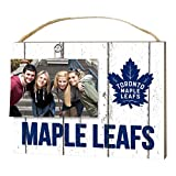 "KH Sports Fan 1001100665 10""x8"" Toronto Maple Leafs Clip It Weathered Logo NHL Photo Frame"