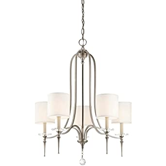 Aztec lighting transitional 5 light antique pewter chandelier aztec lighting transitional 5 light antique pewter chandelier aloadofball Images
