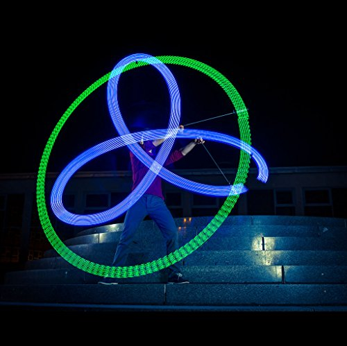 Zeekio Lighted LED Poi - Sold in Pairs