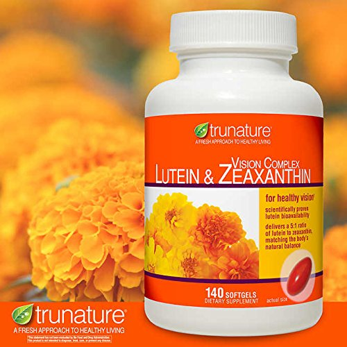 TruNature Vision Complex with Lutein & Zeaxanthin -Great Special 3 Pack ntl(420 Softgels Total )