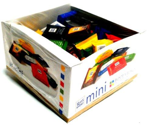 RITTER SPORT: Individual Mini Bars Display: 84 Count