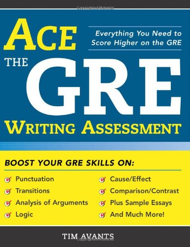 Ace the GRE Writing Assessment (Paperback)-cover