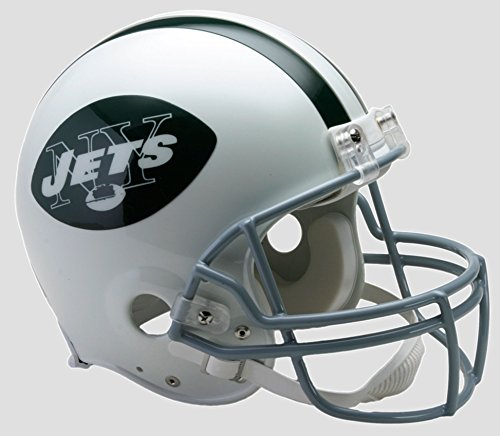 Riddell New York Jets 1965-1977 Authentic Throwback Helmet - New York Jets One Size